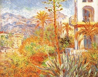 Villas a Bordighera 1888 - Claude Monet reproduction oil painting