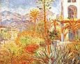 Villas a Bordighera 1888 - Claude Monet reproduction oil painting