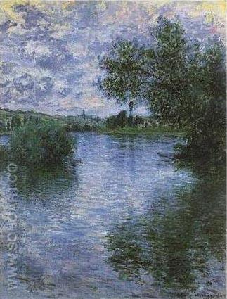 Vetheuil - Claude Monet reproduction oil painting