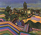 Prades the Village 1917 - Joan Miro reproduction oil painting