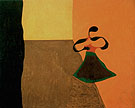 Queen Louisa of Prussia 1929 - Joan Miro reproduction oil painting