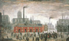 An Accident 1926 (City of Manchester) - L-S-Lowry