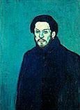 AUTOPORTRAIT 1901 - Pablo Picasso reproduction oil painting