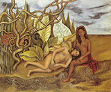 Two Nudes in the Wood 1939 - Frida Kahlo