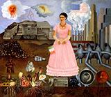 Borderline between Mexico and USA - Frida Kahlo