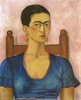 Frida Kahlo  Self Portrait 1930 - Frida Kahlo