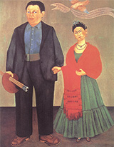 Frida and Diego Rivera 1931 - Frida Kahlo