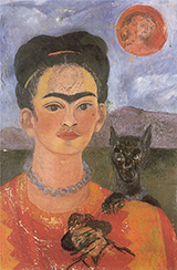 Self Portrait with Deigo on the Breast 1953 - Frida Kahlo