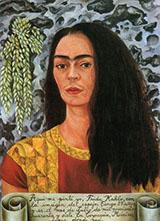 Self Portrait with Hair Loose 1947 - Frida Kahlo