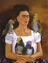 Me and My Parrots 1941 - Frida Kahlo
