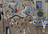 Harlequin's Carnival 1924 - Joan Miro reproduction oil painting