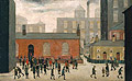 Coming out of School 1927 - L-S-Lowry