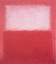 White over Red - Mark Rothko