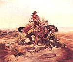 Riding Line - Charles M Russell