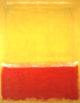 White, Yellow Red on Yellow 1953 - Mark Rothko