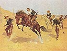 Turn Him Loose, Bill - Frederic Remington