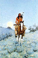 The Outlier - Frederic Remington