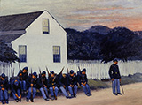 Dawn Before Gettysburg 1934 - Edward Hopper reproduction oil painting