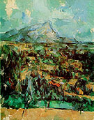 Mont Sainte-Victoire 1900 1 - Paul Cezanne reproduction oil painting