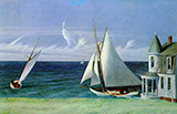 Lee Shore 1941 - Edward Hopper reproduction oil painting