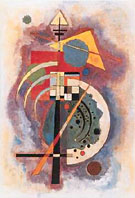 Hommage a' Grohmann - Wassily Kandinsky reproduction oil painting