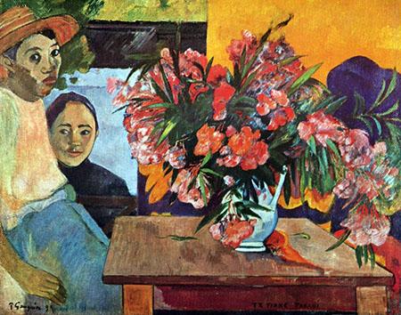 Te Tiare Farani - Paul Gauguin reproduction oil painting