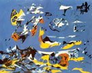 Blue (Moby Dick) 1943 - Jackson Pollock