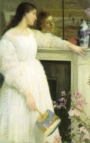 Symphony in White, No. 2 - James McNeill Whistler reproduction oil painting