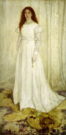Symphony in White, No. 1 - James McNeill Whistler reproduction oil painting