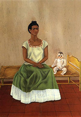 Me and My Doll Self Portrait 1940 - Frida Kahlo
