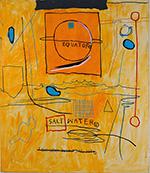 Big Sun - Jean-Michel-Basquiat reproduction oil painting
