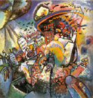 Moscow 1 1916 - Wassily Kandinsky reproduction oil painting