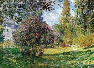 The Parc Monceau - Claude Monet reproduction oil painting