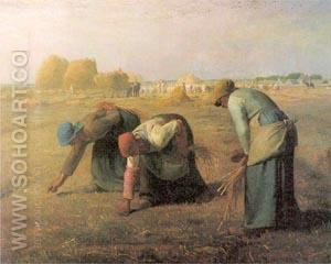 The Gleaners - Jean Francois Millet reproduction oil painting