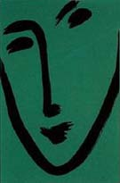Green Mask 1951 - Henri Matisse reproduction oil painting