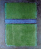 Rothko - Untitled 582 Green over Blue - Mark Rothko