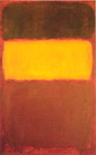 No 7 Orange and Chocolate - Mark Rothko