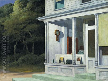 Seven AM - Edward Hopper reproduction oil painting