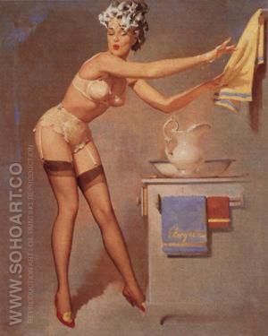Eyecatcher 1965 - Pin Ups reproduction oil painting