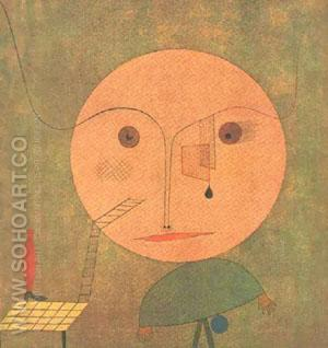 Error on Green 1930 - Paul Klee reproduction oil painting