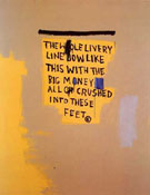 The Whole Livery Line 1987 - Jean-Michel-Basquiat