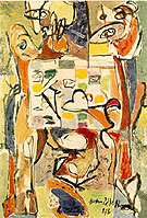 Teacup 1946 - Jackson Pollock