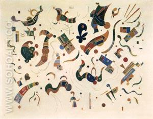Relations - Wassily Kandinsky reproduction oil painting