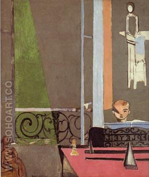 The Piano Lesson - Henri Matisse reproduction oil painting