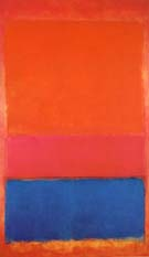 No 1 Untitled Royal Red and Blue 1954 - Mark Rothko
