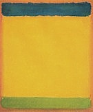 Untitled Blue Yellow Green On Red 1954 - Mark Rothko