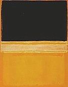 Black Pink Yellow Over Orange - Mark Rothko