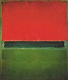 Red Dark Green Green 1952 - Mark Rothko