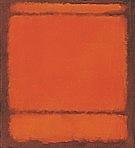 No 210 211 Orange - Mark Rothko
