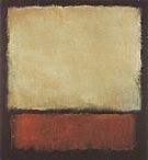 No 7 1963 Dark Brown Gray Orange - Mark Rothko